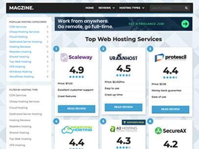 Web Hosting Demo