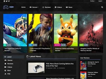 Dakr Gaming Review Demo